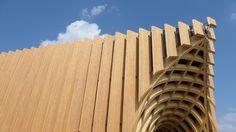 Expo 2015, Pavillon France, Milan, Italie - Angle de l'architecture - Architectes XTU - Photo Vincent Laganier @Expo2015Milano