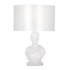 Dunelm statue table lamp