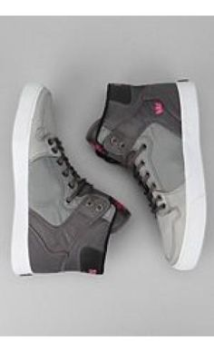 Supra Vaider High-Top Sneaker  High-top skate sneaker from Supra * Tonal diamond ripstop nylon uppers with pop color ...  Price:$110.00
