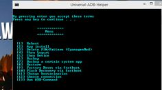 Universal ADB Utility Simplifies Common Android Command Line Tasks