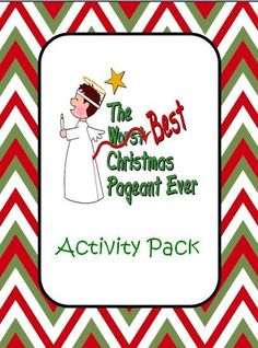 The Best Christmas Ever Activity Pack product from An-Apple-For-The-Teacher on TeachersNotebook.com