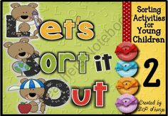 Let's Sort It Out Super Assortment Interactive Activities 2 product from A-Teacher-in-Paradise on TeachersNotebook.com