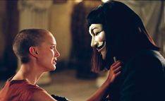 V For Vendetta Evey, V For Vendetta Film, V Pour Vendetta, Sci Fi Movies, Series Movies, Movie Tv, Fiction Movies, Hugo Weaving, Kirk Douglas