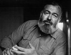"Ernest Hemingway - ""Write drunk; edit sober."""
