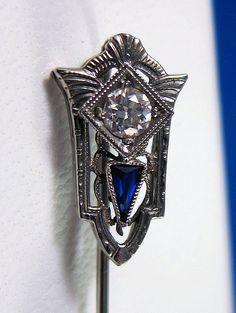 Beautiful 14k Art Deco 15 Carat Old European by BellaJewelryShop, $195.00