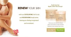 Infinique organic skin care products - official website  i love this stuff!
