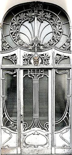 Art Nouveau door-Berlin