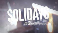 """@lachoseparis soutient Solidays avec un film réalisé par #lachose/DasDing, des images de Blacktwin, Euro Media France et Une idée en l'air sur le titre """"Follow Me"""" de Talisco Music"""