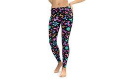 Spinners Leggings or Capris Woman's Printed Leggings Yoga