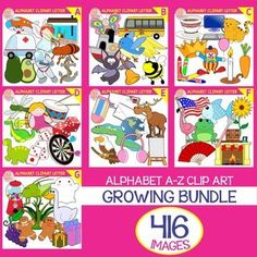 This Huge Growing Bundle has 416 Images!! Included are 208 color images and 208 black & white. You can create a lot with this set and will be very useful for your projects. You may use the Clip Art for personal or commercial use. Buy the Bundle NOW for $43 (save $35) 45% Discount Complete Bundle for $54 (save $24) 30% Discount sold individually for $3 each for $78
