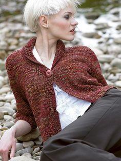 Panguipulli+Cardigan+from++by+Araucania+at+KnittingFever.com
