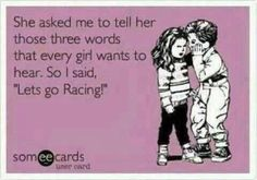 NASCAR (and drag racing) is for girls too! Nascar Sprint Cup, Sprint Cars, Dirt Track Racing, Nascar Racing, Auto Racing, Nascar Quotes, Race Quotes, Nascar Memes, Winchester