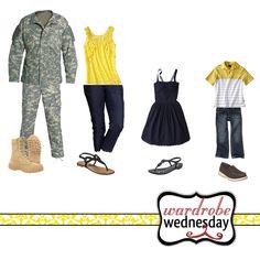 wardrobe wednesday military outfit ideas 1