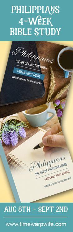 Philippians: The Joy of Christian Living - Free Bible Study