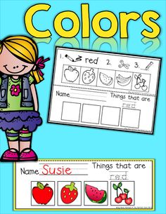 Color Book (color, cut and paste)