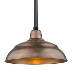 Black or Copper Rushmore Single Light Wide Warehouse Pendant Barn Lighting, Outdoor Lighting, Pendant Lighting, Sloped Ceiling, Ceiling Fan, Ceiling Lights, Infinity Homes, Thing 1, Warehouse