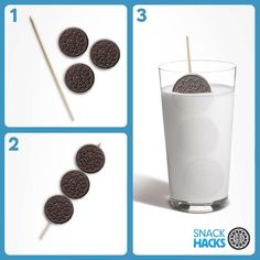 Dunk 3 Oreo cookies in 6 seconds? Challenge accepted! #OreoSnackHacks {Mind blown!}