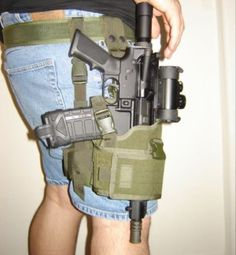 But since there IS NO holster for an AR pistol. it works Ar15 Pistol, Pistol Holster, Holsters, Weapons Guns, Guns And Ammo, Rifles, Airsoft, Tac Gear, Cool Guns