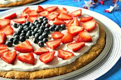 I love fruit pizza! My friend D makes fruit pizza almost every year for 4th of July.The original recipe for this delicious dessert is made with packaged sugar cookie dough, cream cheese, sugar and fruit. I wanted to make this dessert with real food ingredients and with gluten and dairy free options. I spent all …