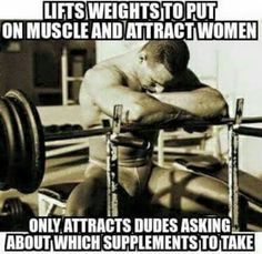 Lifts Weights To Put On Muscle And Attract Women