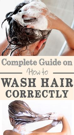How to wash your hair correctly