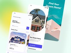 Real Estate App by Imran Molla Looking For Apartments, Directory Design, Branding Design, Logo Design, App Design Inspiration, Application Design, Mobile App Design, Job Opening, User Interface
