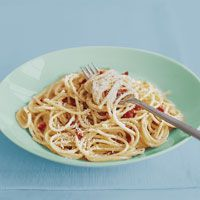 Carbonara by Rachel Ray - We make this all the time, and we love it. So simple, and everyone eats it.
