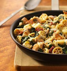 Wagon wheel pasta recipe
