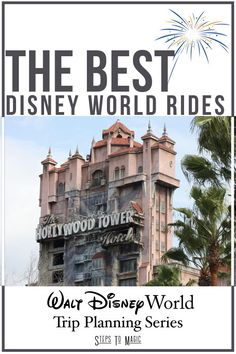 Let's Look At The 20 Best Attractions At Walt Disney World! From the best dark ride to best of each individual park, this list is a starting point for your trip planning!