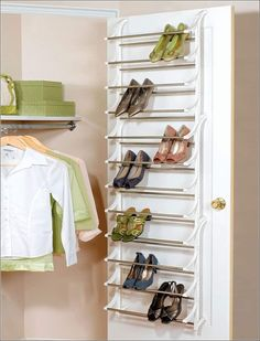 Check out Creative Shoe Storage Ideas For Small Spaces. Here at The Architecture Designs, browse all shoe storage ideas for small spaces. Shoe Storage Solutions For Small Spaces, Shoe Storage Small Closet, Shoe Storage Design, Space Saving Shoe Rack, Closet Shoe Storage, Diy Shoe Rack, Home Storage Solutions, Rack Design, Small Storage