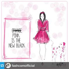 Pink is the new black!