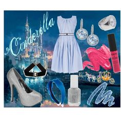 Inspired by Cinderella (Disney Princess Fashion)