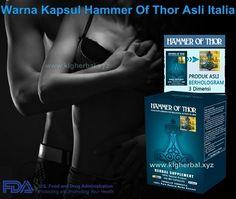 Warna Kapsul Hammer Of Thor Asli Italia