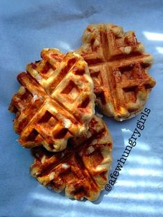A Few Hungry Girls: Authentic Belgiums Waffles @ Home!!
