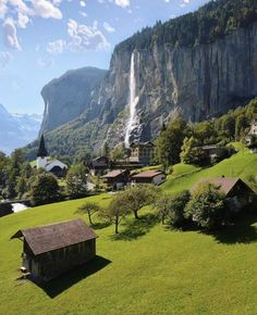 Take your breath away 🏡 Lauterbrunnen, Switzerland. Photo by Tag someone you would like to enjoy a day with in this nature environment 💦 Places Around The World, Oh The Places You'll Go, Places To Travel, Switzerland Vacation, Switzerland Tourism, Destination Voyage, Beautiful Places To Visit, Amazing Places, Vacation Spots