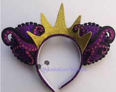 100 Mickey Mouse Ears - A girl and a glue gun Micky Ears, Disney Minnie Mouse Ears, Diy Disney Ears, Disney Bows, Anna Disney, Disney Diy Crafts, Disney Headbands, Disney Halloween, Halloween Costumes