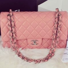 #Chanel #bag #pink #fashion #mode #girly #style