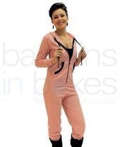 Womens Plain Onesie With Pockets quality UK Made.