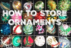 How to Store Holiday Ornaments – Tips from Someone with Year-Round Trees Christmas Tree Store, Unique Christmas Ornaments, Vintage Ornaments, Holiday Storage, Christmas Storage, Storage Organization, Storage Ideas, Organizing, Winter Holidays