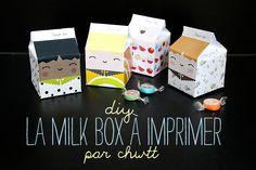 Diy : la milkbox à imprimer