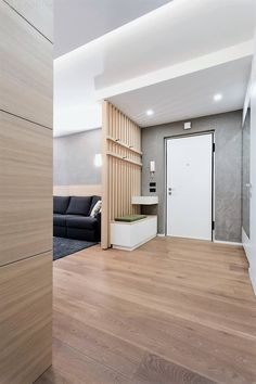 Home b: arch lemayr thomas style wohnzimmer Apartment Entrance, Home Entrance Decor, House Entrance, Small Space Interior Design, Home Room Design, Home Interior Design, House Design, Living Room Partition, Room Partition Designs
