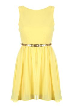 Yellow Chiffon Lace Dress Sweet Pastel Bridesmaid Dress | Yellow ...