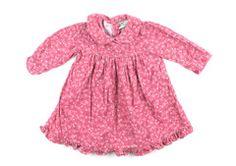 9-12m / Floral corduroy dress / Robe corduroy fleuri   Changeroo.ca