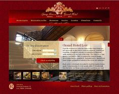 Red Website Designs