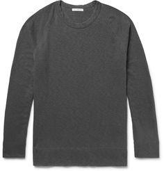 JAMES PERSE Loopback Supima Cotton-Jersey Sweatshirt. #jamesperse #cloth #sweats