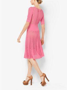Hand-Crochet Stretch-Viscose Dress