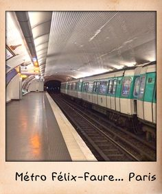 Métro Félix-Faure... Paris