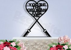 you're the obi wan for me   Geeky Star Wars Ideas Weddings http://emmalinebride.com/themes/geeky-star-wars-ideas-weddings/