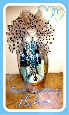 Mary Kay Birthday Basket for a customer. www.marykay.com/shermainejr Holiday Gift Baskets, Holiday Gifts, Birthday Basket, Mary Kay, Ideas, Xmas Gifts, Thoughts