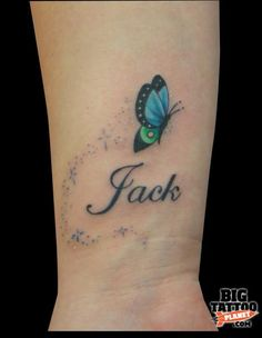 Cute! Only I would have it on my foot with one pink and one blue, and have Kierden and Shayla!